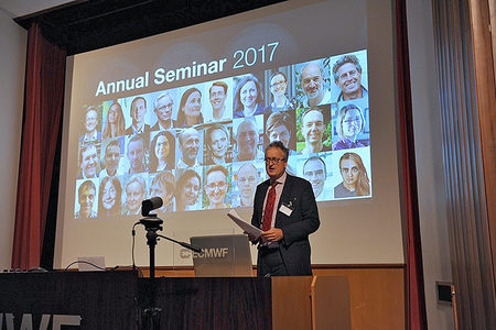Roberto Buizza at the Annual Seminar 2017