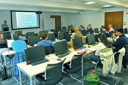 NWP numerical training course classroom