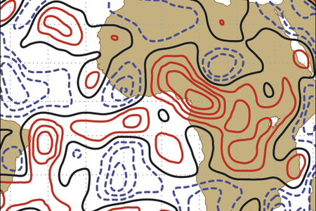 Stochastic schemes use perturbation patterns to model uncertainty