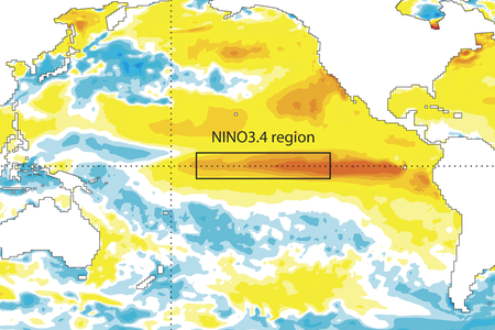 Sea-surface temperature anomalies September 2015