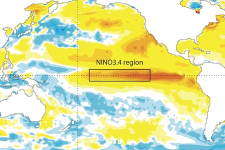 Sea-surface temperature anomalies September 2015