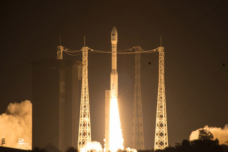 Sentinel-2A satellite launch