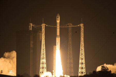Sentinel-2A satellite launch