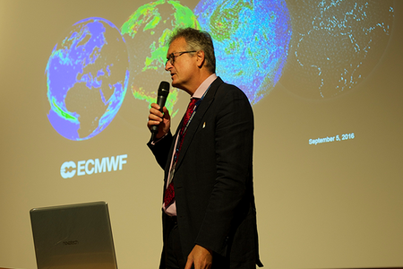 Roberto Buizza at ECMWF's Annual Seminar 2016