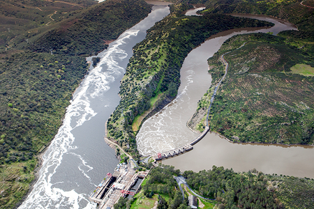 Photo of Dam in Monfragüe National Park, Spain