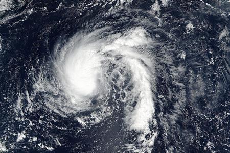 Tropical storm Karl on 23 September 2016