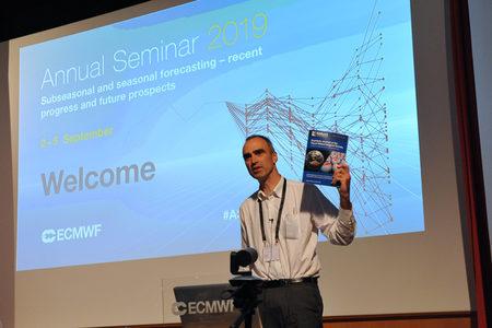 Andy Brown at the Annual Seminar 2019