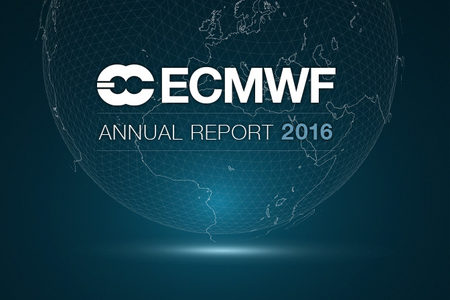 ECMWF Annual Report 2016 cover image