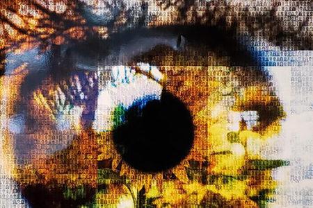 Blog banner, ECMWF art exhibition
