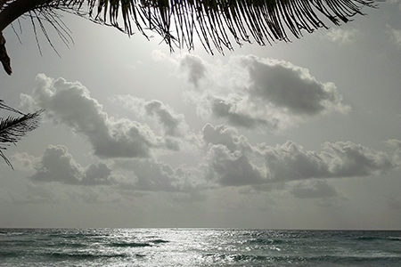 Barbados clouds