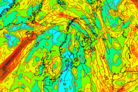 Generic image of weather chart