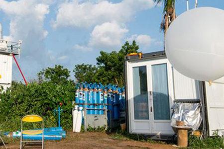 DACCIWA blog banner, KITcube atmospheric observation system