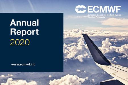 ECMWF Annual Report 2020 Cover web news