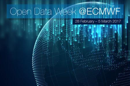 Open Data Week at ECMWF, 2017