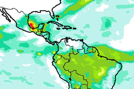 Rainfall percentiles derived from ecPoint-Rainfall