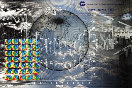 ECMWF Newsletter cover image montage