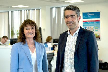 Florence Rabier (ECMWF) and Pierre Bahurel (Mercator)