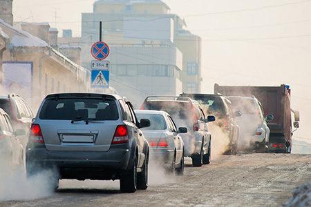 Traffic fumes