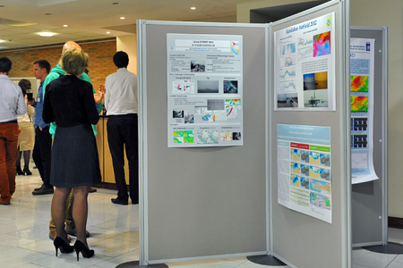 Training on use of ECMWF products, poster session