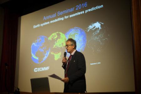ECMWF's Lecture Theatre