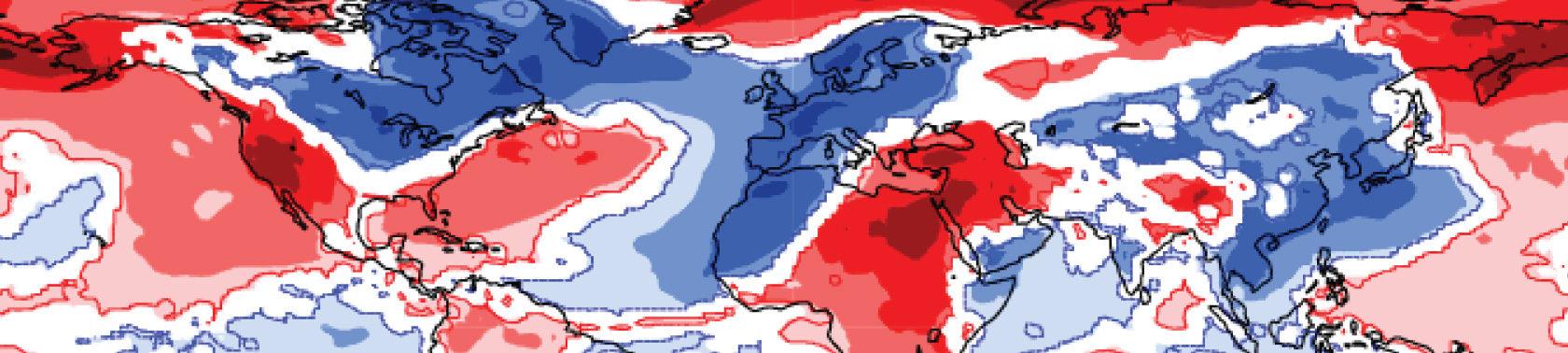Example extended-range forecast