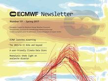 Cover of ECMWF Newsletter No. 151