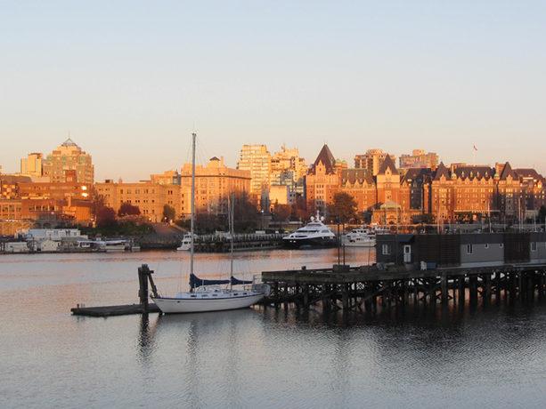 View of Victoria Canada