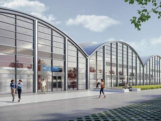Artist's impression of proposed new ECMWF data centre
