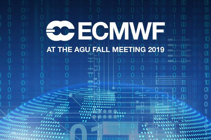 ECMWF at AGU 2019 image