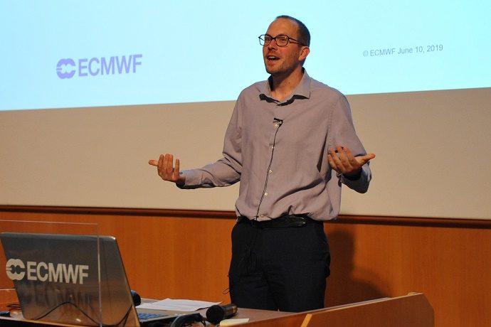 Florian Pappenberger at the observational campaigns workshop June 2019