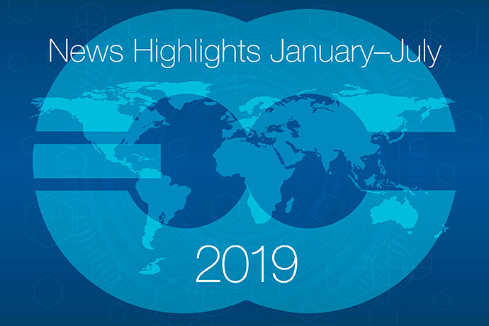 News highlights January to July 2019