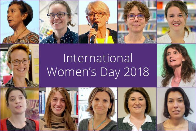 International Women's Day 2018 montage