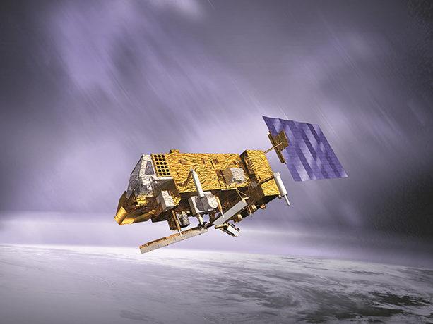 EUMETSAT Met-Op satellite