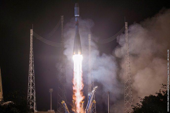Metop-C launch on 7 November 2018