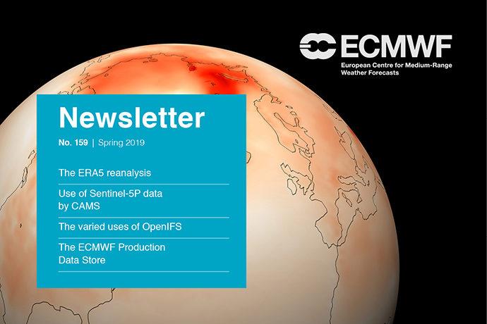 ECMWF Newsletter 159 cover