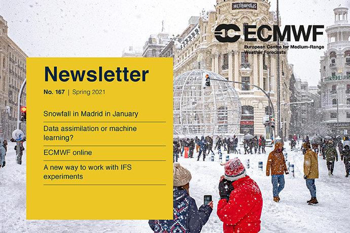 ECMWF Newsletter No. 167 cover image