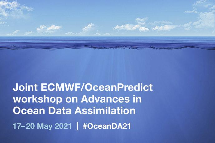 Ocean data assimilation workshop image