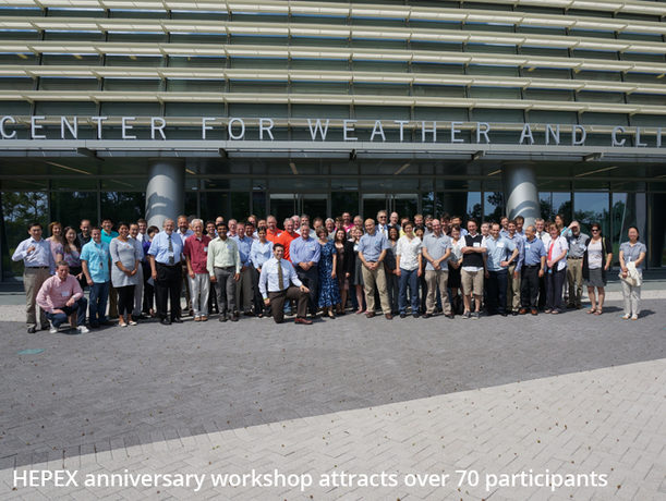 HEPEX anniversary workshop attracts over 70 participants