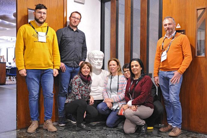 ARISTOTLE-ENHSP meeting participants at ECMWF February 2020