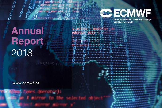 ECMWF Annual Report 2018 web image