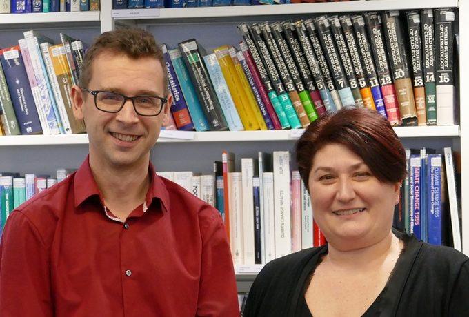 Richard Engelen and Rossana Dragani