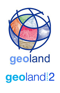 Geoland I and II logo