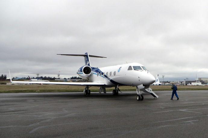 NOAA Gulfstream IV (G-4) aircraft