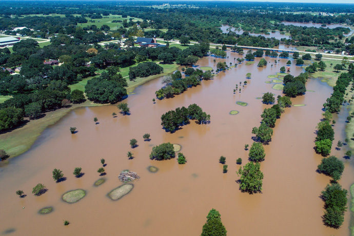 Flooding in Texas in the wake of Hurricane Harvey