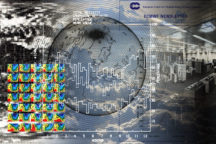 ECMWF Newsletter cover image montage