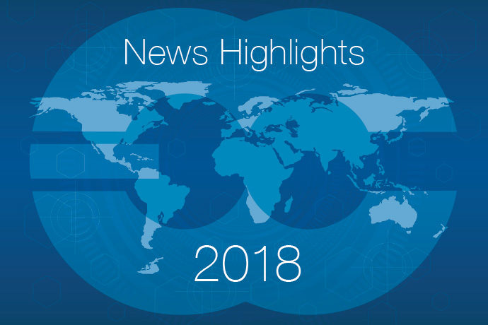 ECMWF news highlights of 2018