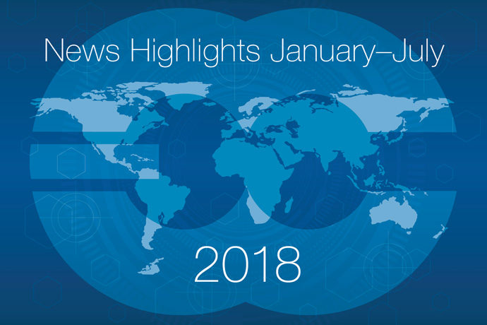 News highlights January to July 2018