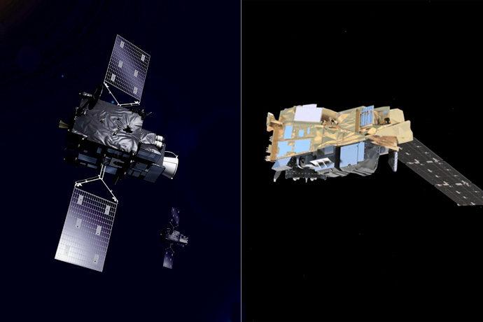 Meteosat Third Generation and Metop-SG satellites