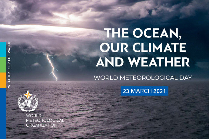 World Meteorological Day 2021 graphic