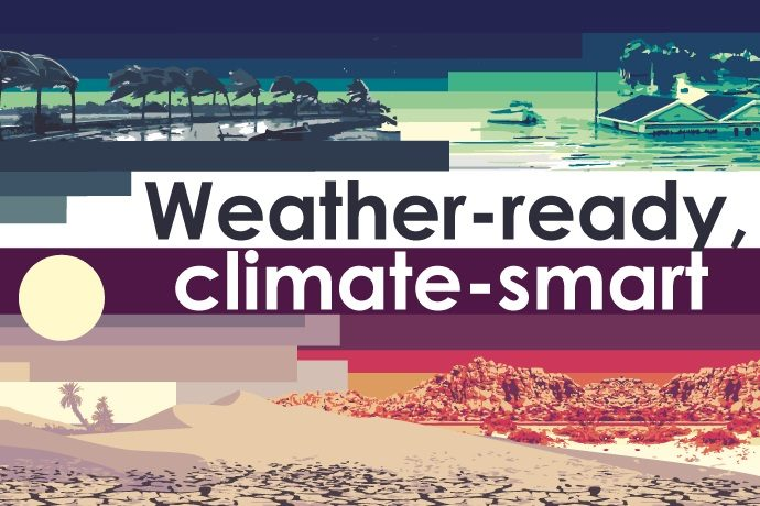 World Meteorological Day graphic